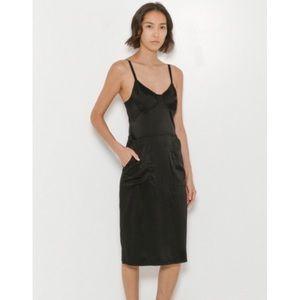 { raquel allegra silk dress }